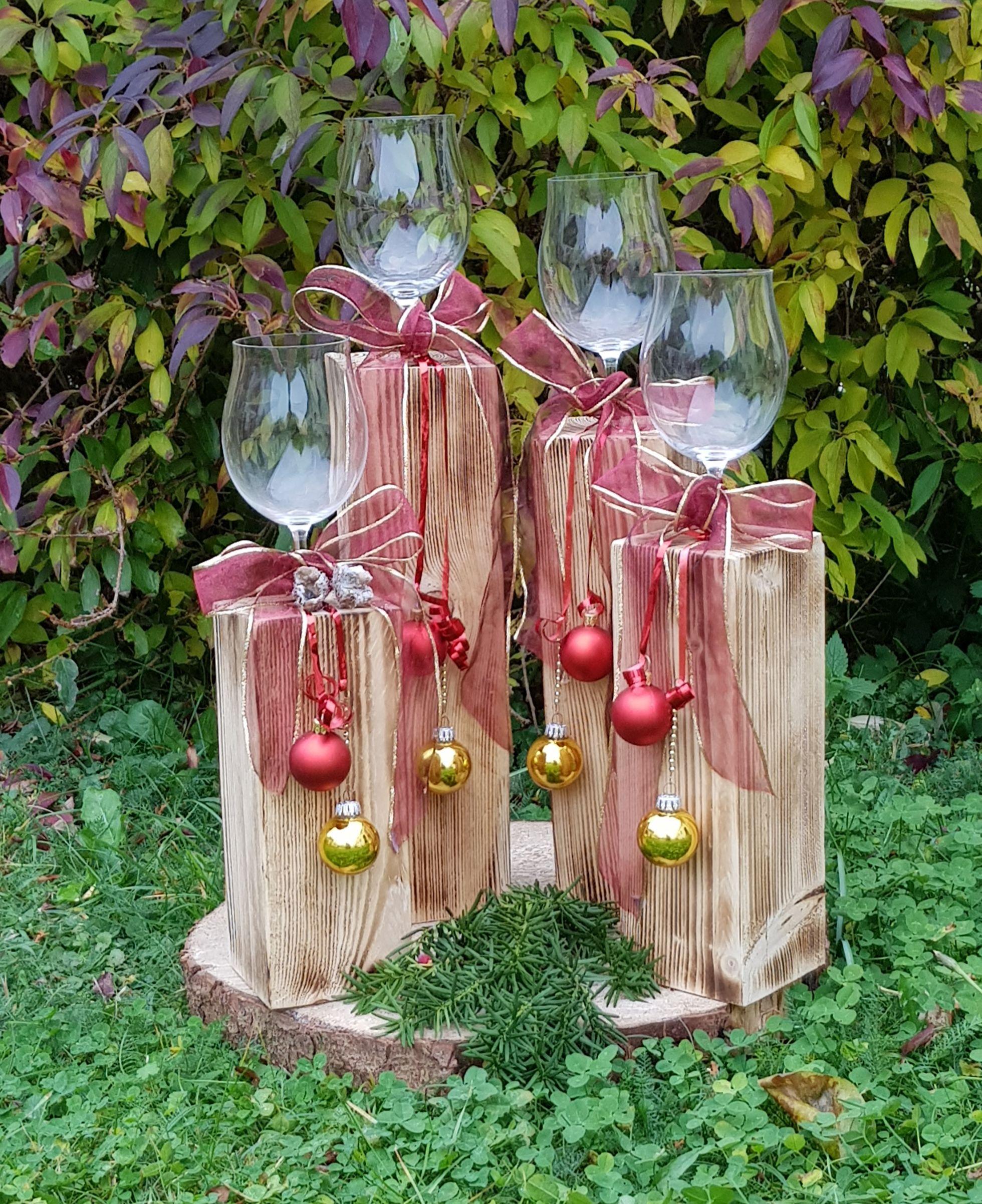Schwebende Glaser Aus Der Werkstatt Von Didi S Restekiste Holzarbeiten Zu Weihnachten Deko Weihnachten Weihnachten