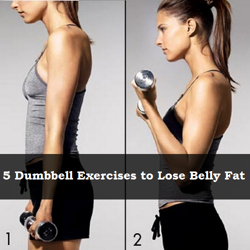 Fat Loss Exercise With Dumbbells