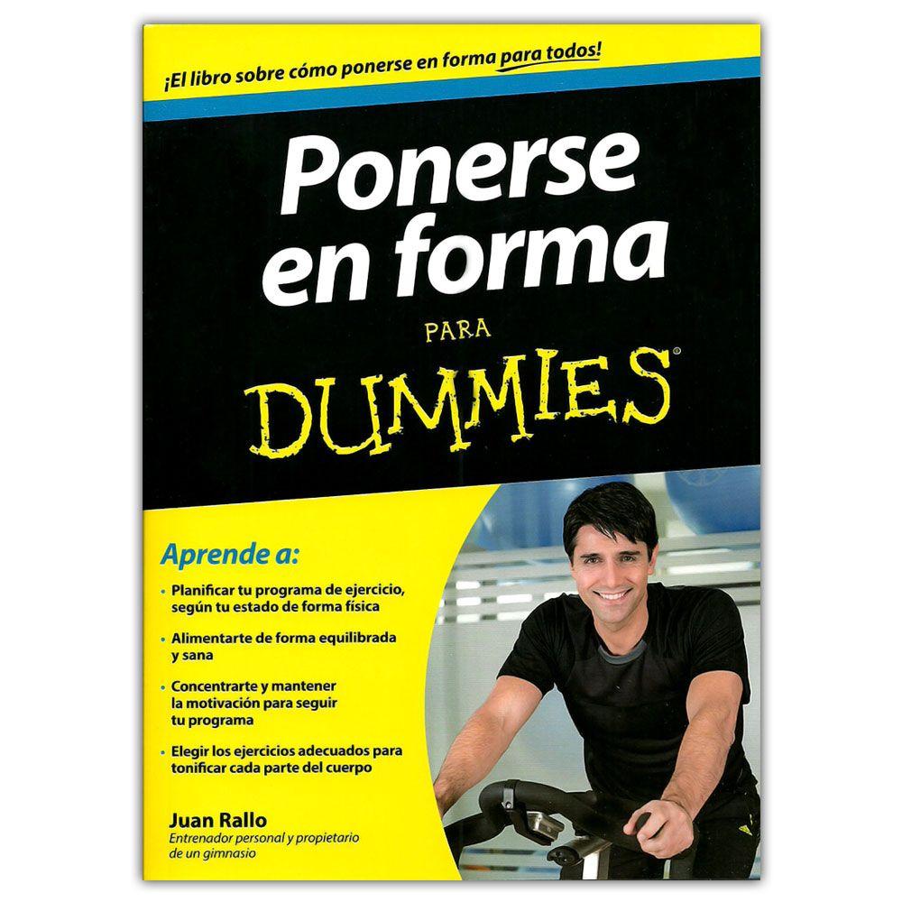 Comprar Libro Ponerse En Forma Para Dummies Ponerse En Forma Para Dummies Mantener La Motivación