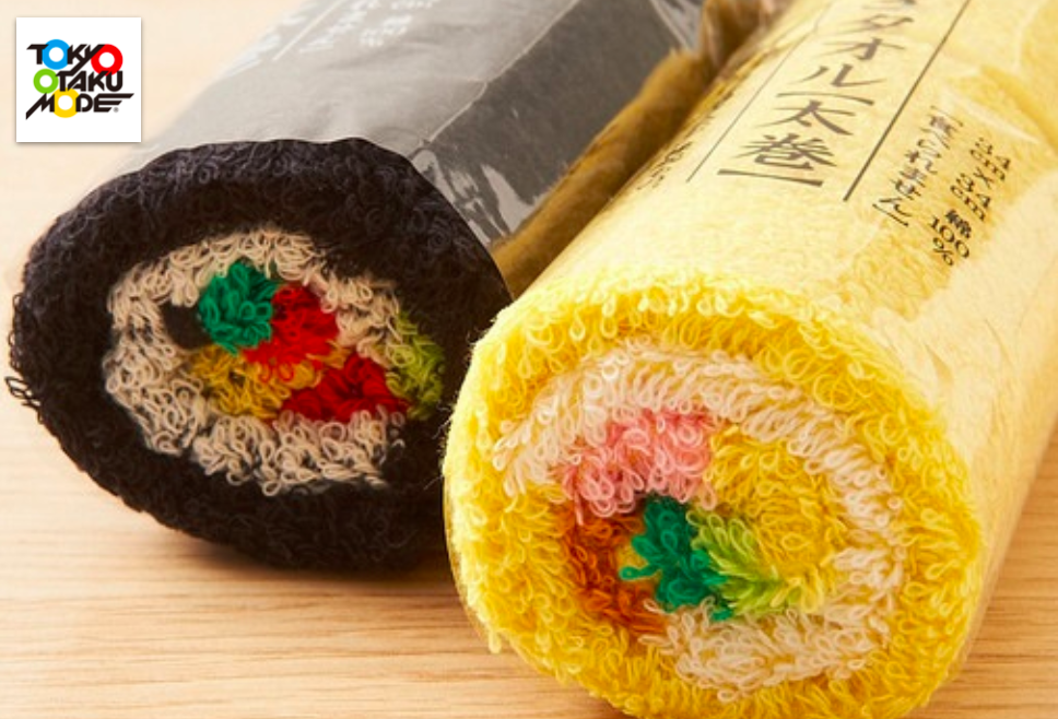 Today We Want: SUSHI ROLL TOWELS