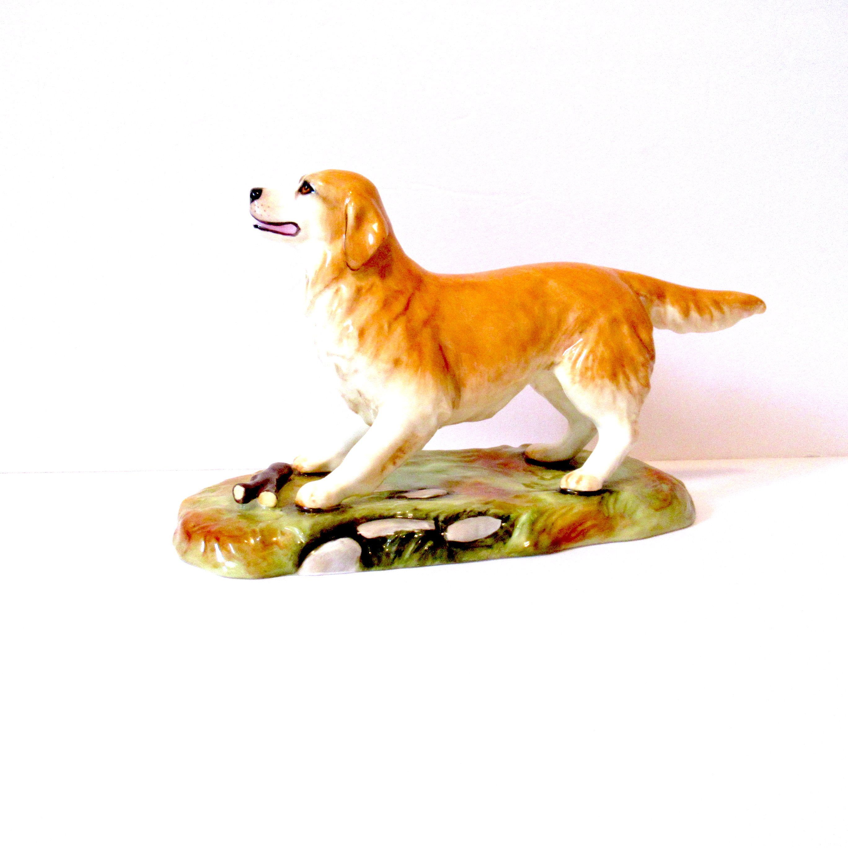 Golden Retriever Christmas Ornament Personalised Leather Dog
