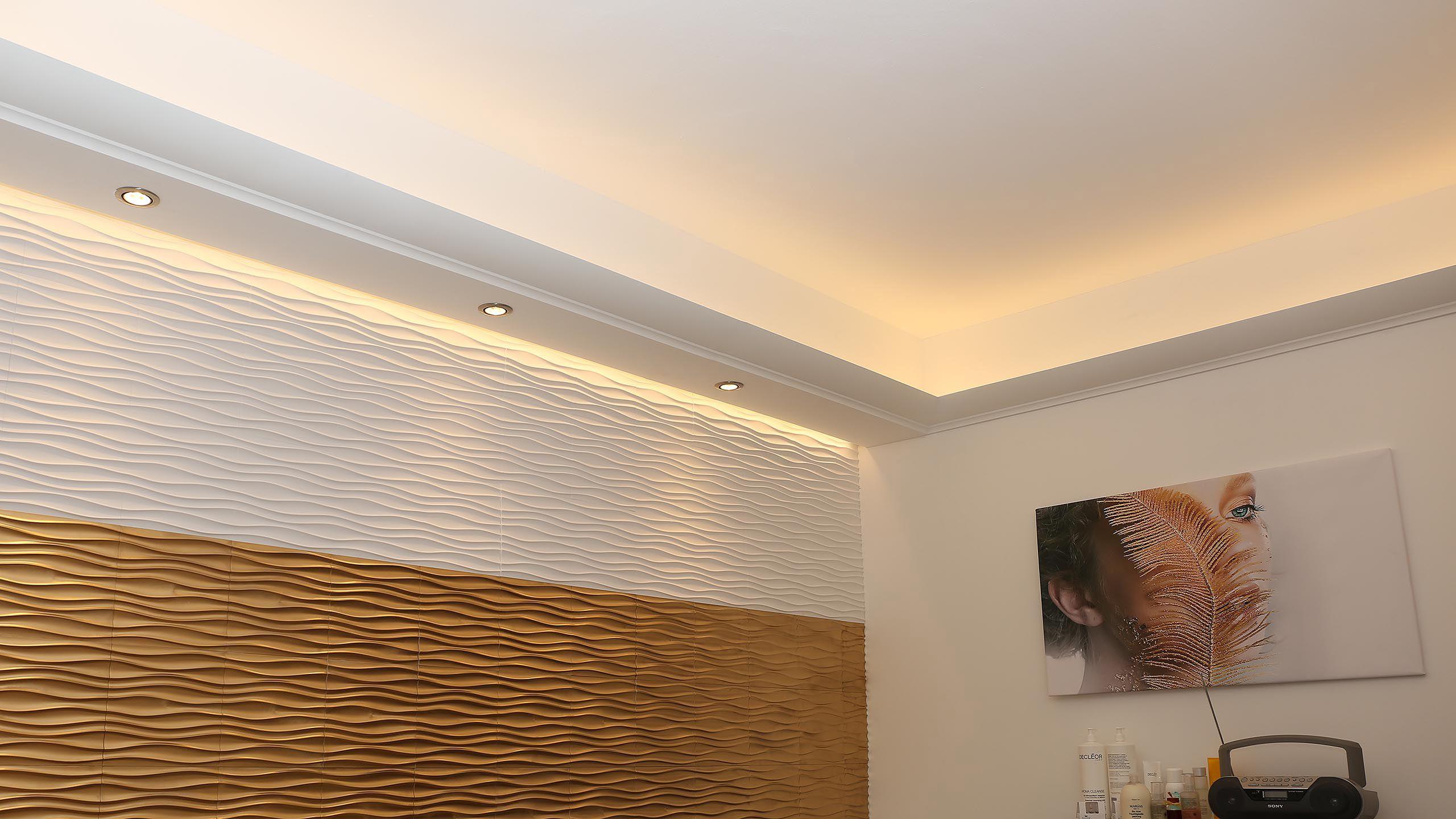 Bendu Bildergalerie Hier Beispiele Und Losungen Entdecken Led Stuckleiste Wandbeleuchtung Direkte Beleuchtung