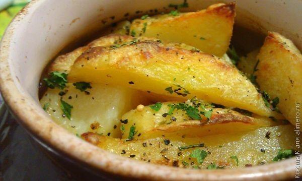 тушеная картошка с мясом рецепт с фото в духовке