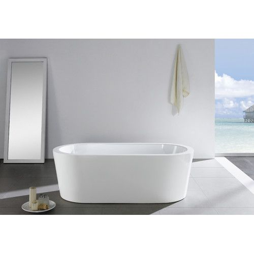 Ramo 58 X 29 Freestanding Bathtub Soaking Bathtubs Bathtub