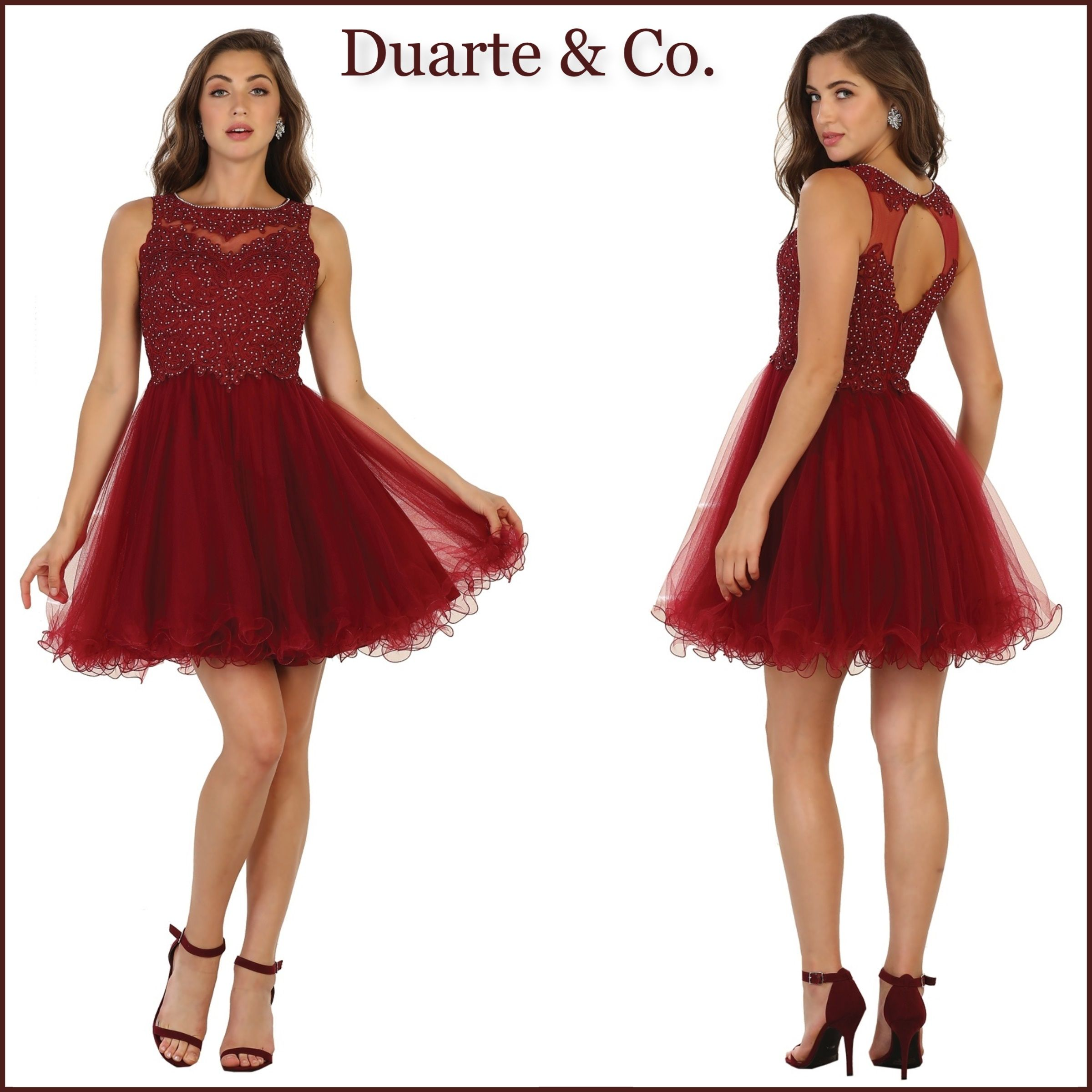 Mq short lace party dress comes in colors and is great