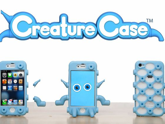 Creature Case for iPhone and iPod Touch by DANO Toys, via Kickstarter.