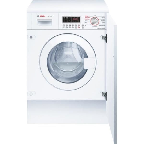 Bosch Wkd28541ff Lave Linge Sechant Tout Integra Elek Trop Manager Washer Dryer Washing Machine Et Dryer