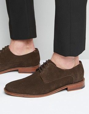 2d69ec2cc47 Ted Baker Joehal Suede Derby Shoes   Land On Your Feet   Shoes ...