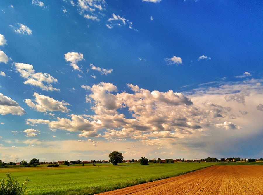 Spring Landscape by Andrea Di Mauro on 500px #beautiful #blue #cloud #clouds #composition #details #distant #exposure #far #field #focus #gallery #green #hdr #infinite #italian #italy #landscape #mothernature #nature #neat #outdoor #photo #photographer #photography #new