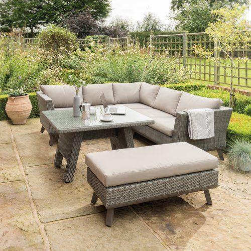 Caleta 6 Seater Dining Set with Cushions Kettler UK ...