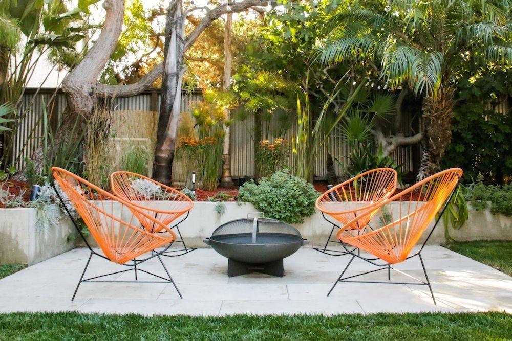 Mid Century Modern Patio Reveal Modern Outdoor Patio Mid