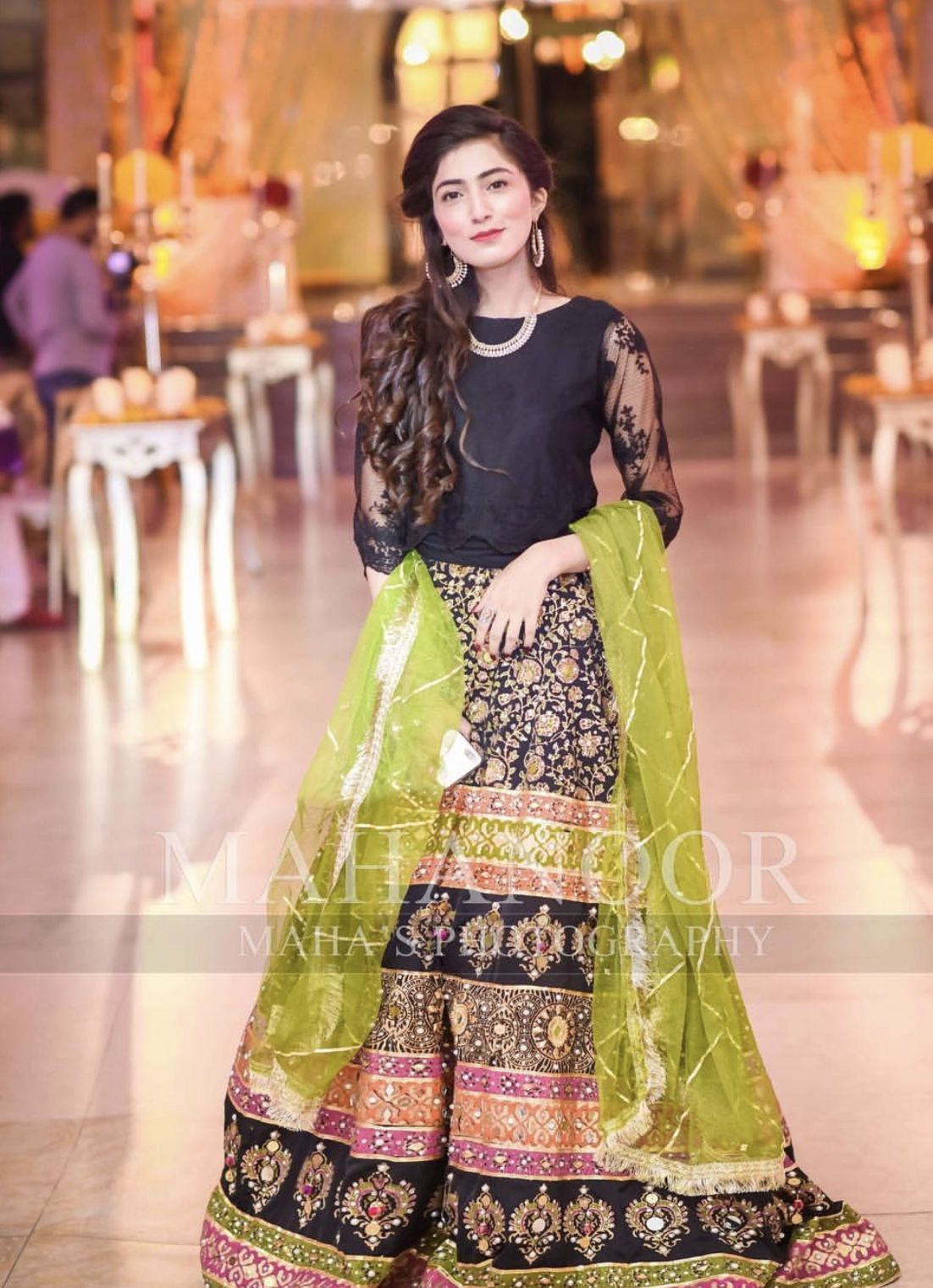 Brides sister or cousin Mehndi dress in 2019