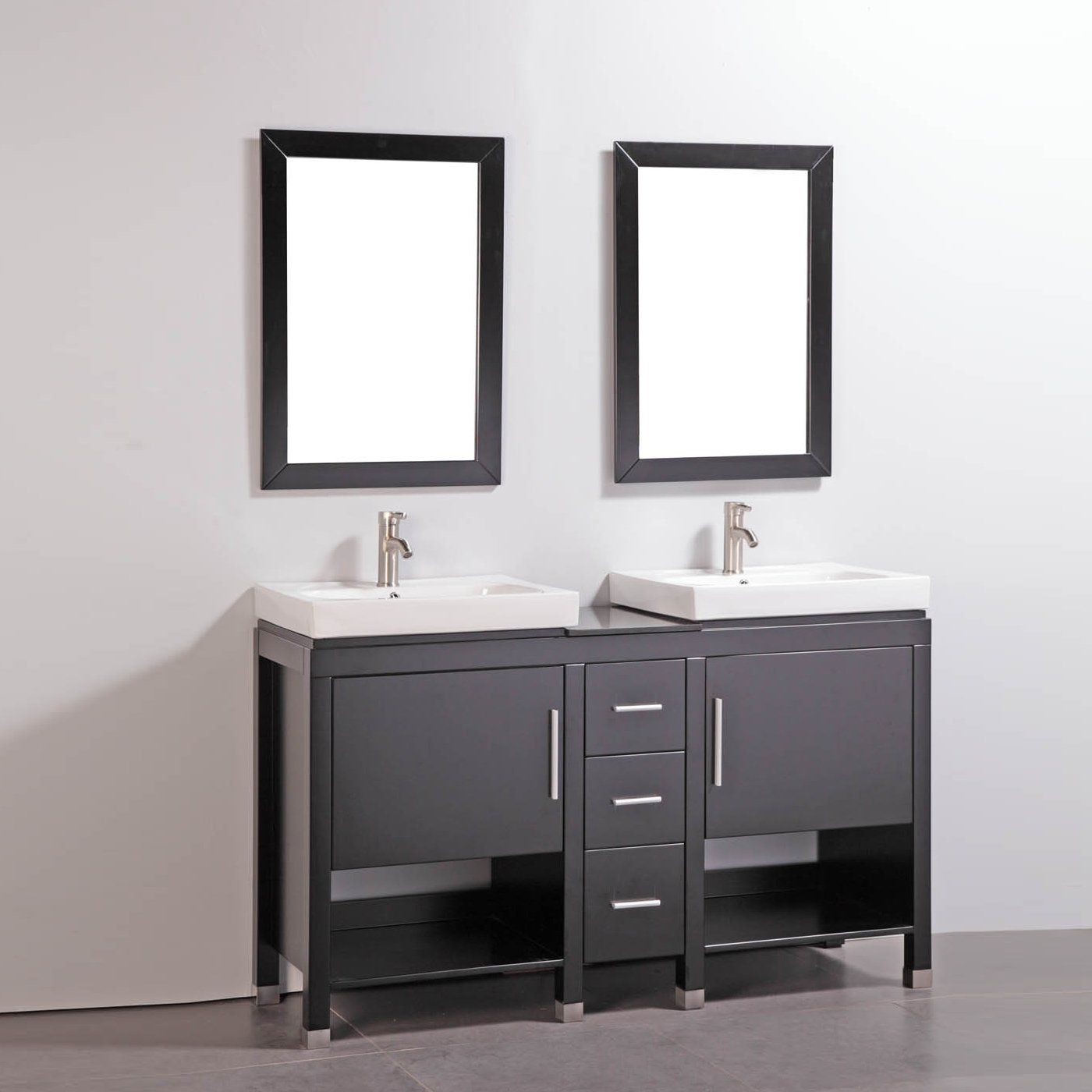 shop legion furniture wa6960 60 in solid wood double bathroom vanity rh pinterest fr 28 Bathroom Vanity with Sink 48 Bathroom Vanity with Sink