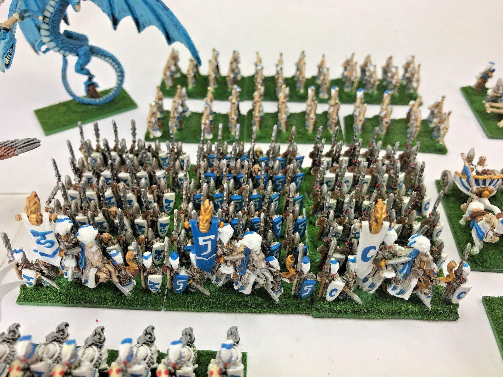 Details about Warhammer Fantasy High Elf Army 4 - Many Units