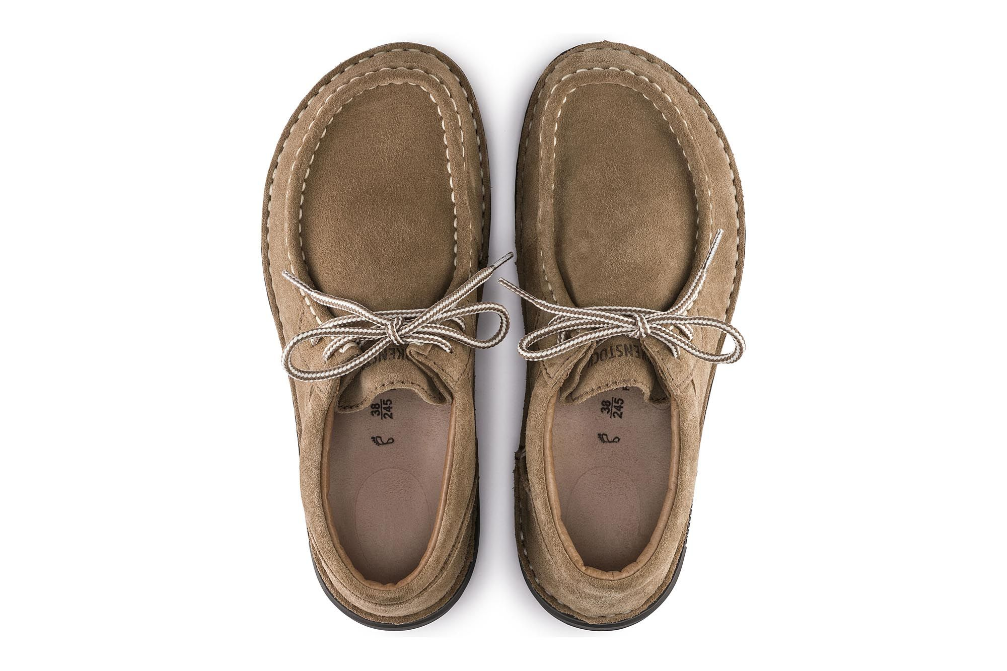 24186ab2296 Pasadena Women Taupe Suede   shoes   Shoes, Suede leather, Boat shoes