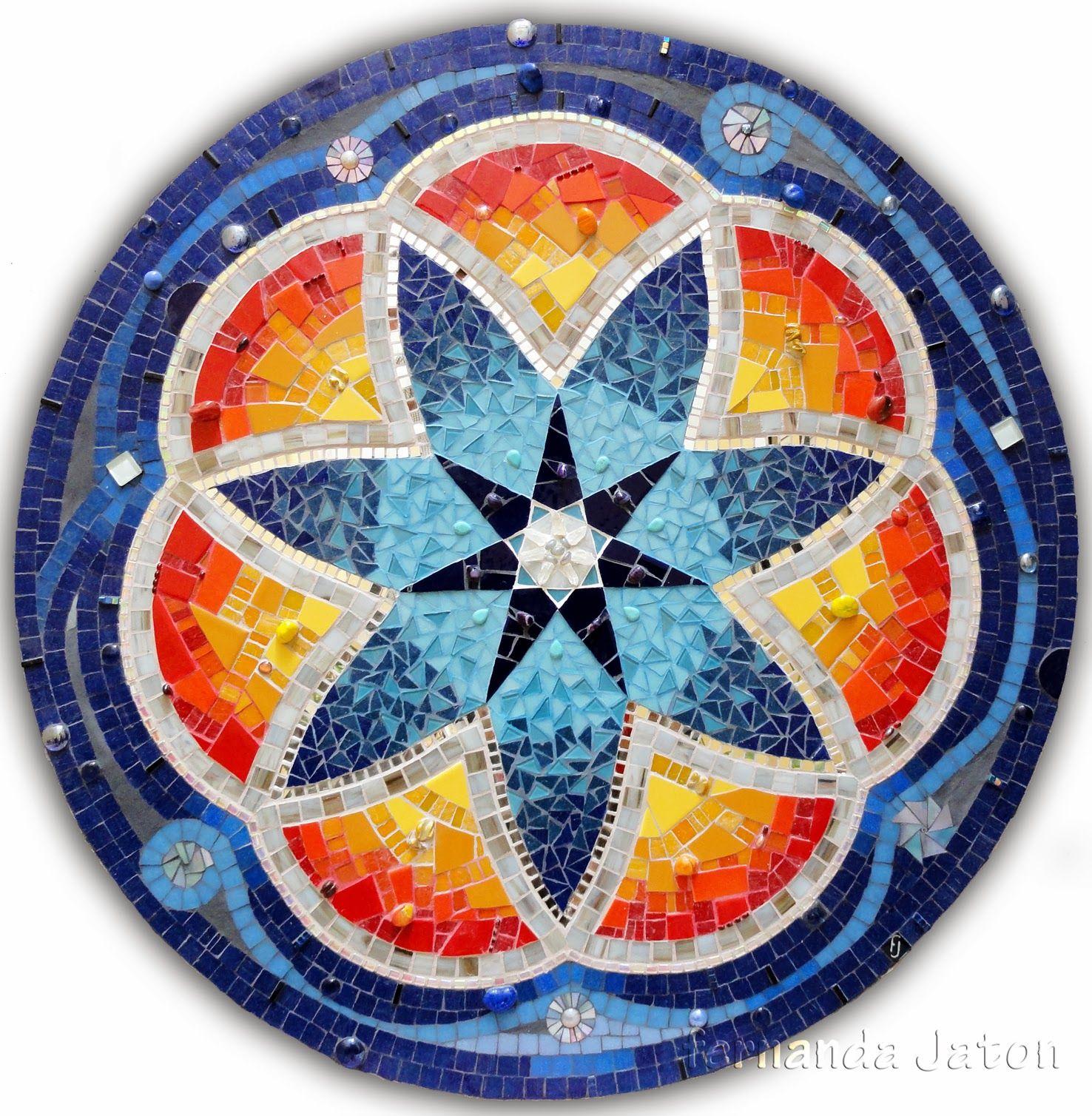 Mosaico creativo de fj mosaic art obra dise o for Disenos para mosaicos