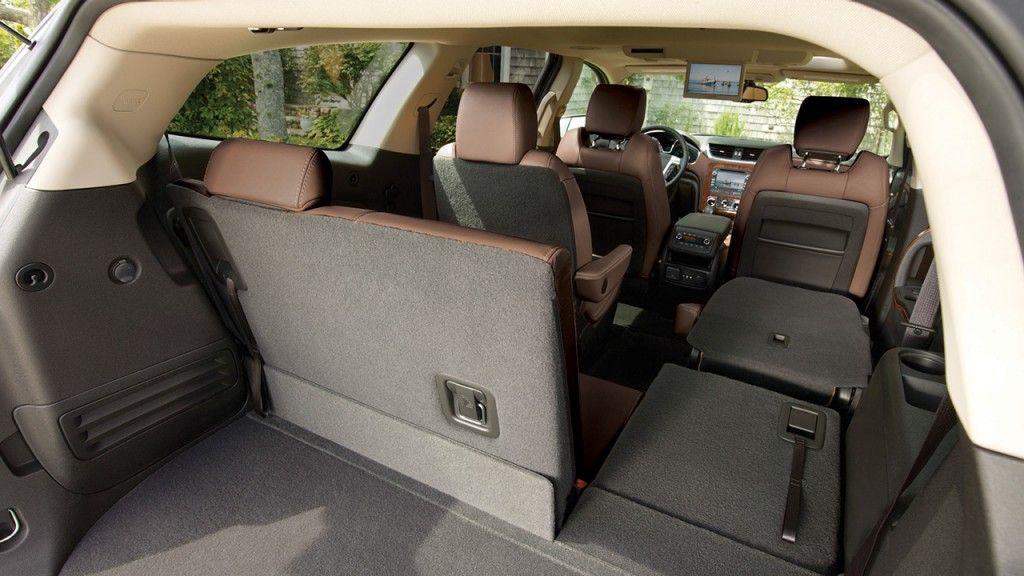 Chevrolet Traverse 2015 Tiene 3 Filas De Asientos Para Optimizar