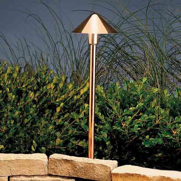 Kichler Lighting 15439co Copper Landscape Path Light Led Outdoor Lighting Kichler Lighting Led Path Lights
