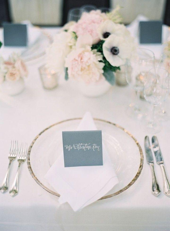 Color Inspiration: Slate and Dusty Blue Wedding Ideas - Kurt Boomer Photography