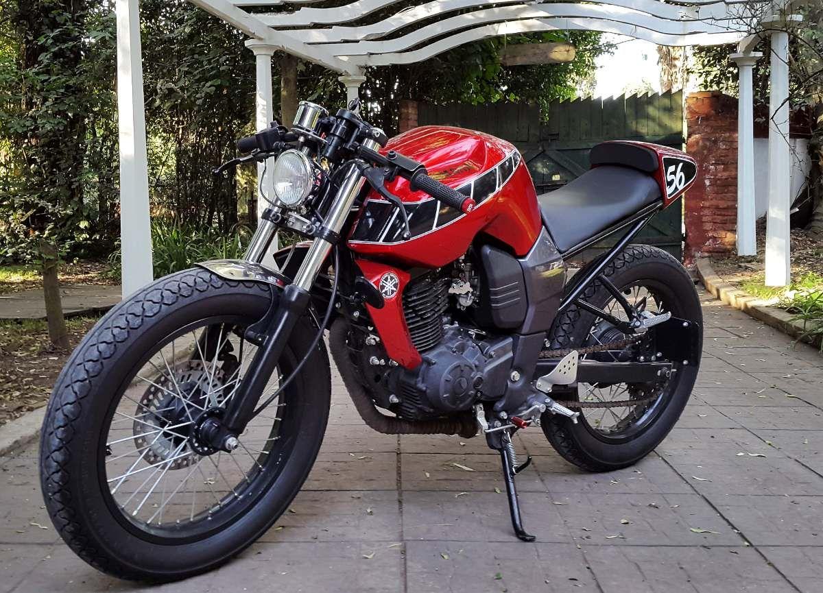 Moto yamaha scrambler cars motorcycles bobber forward mt09 yamaha - Yamaha Fz16 Cafe Racer No Brat Tracker Scrambler