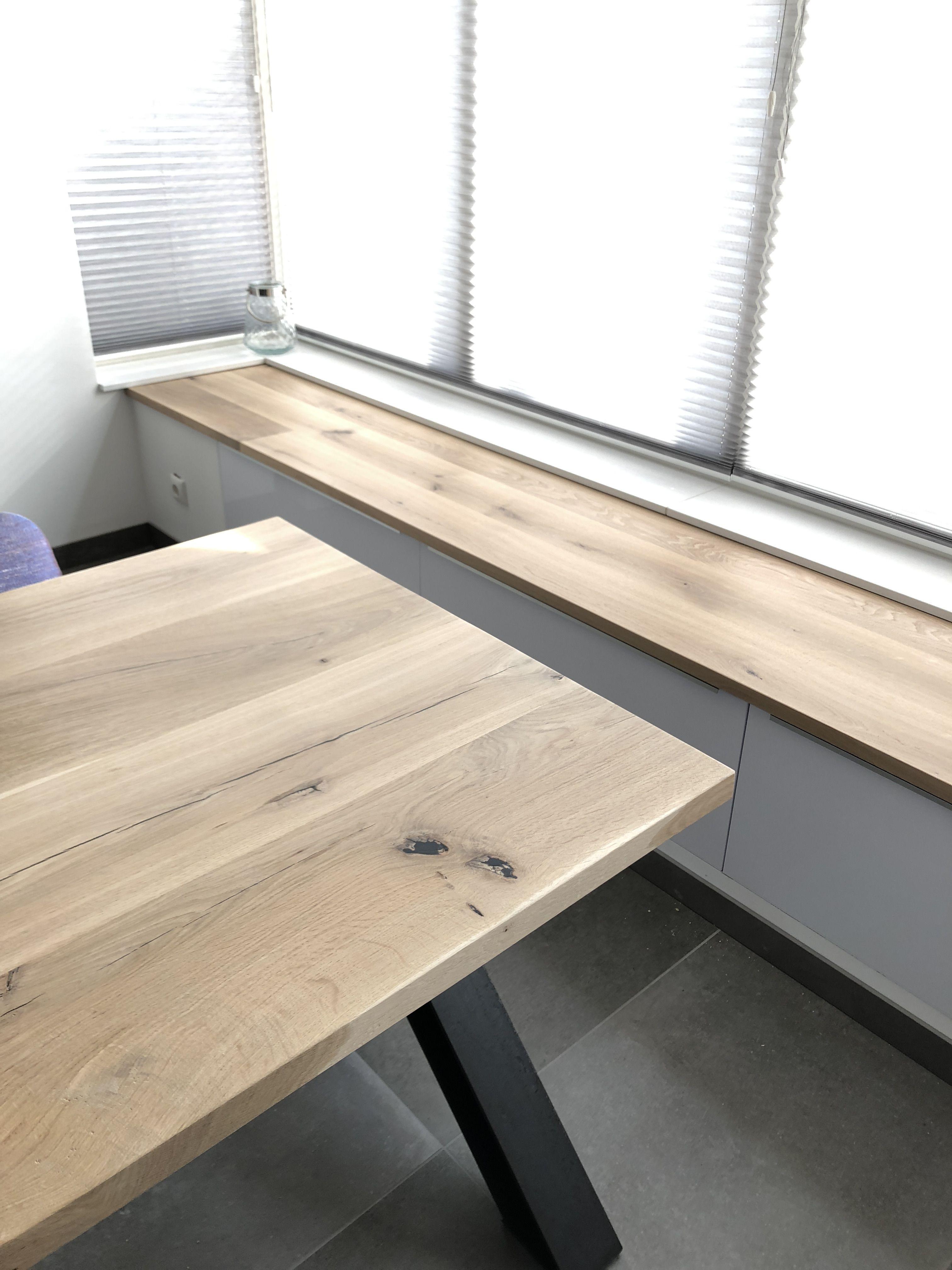 Compleet eiken interieur voor een nieuwbouw won… | Tafels en ...