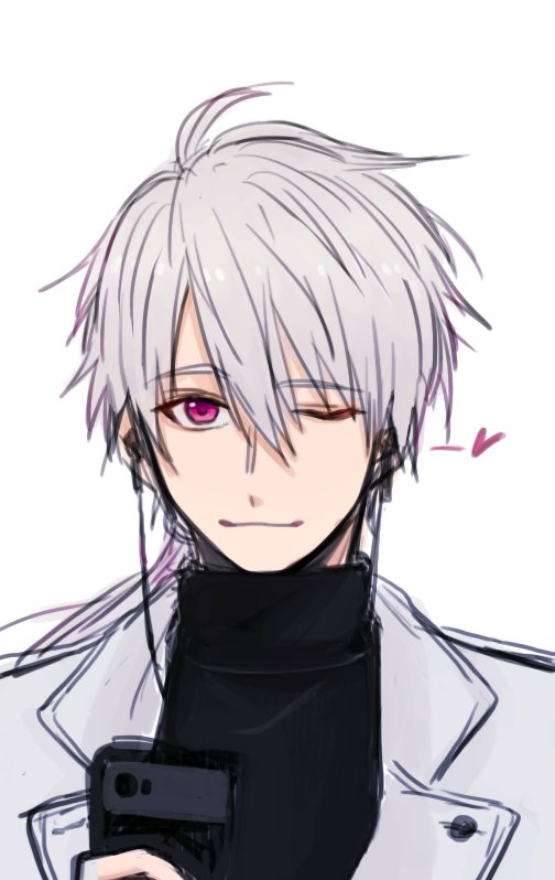 He Reminds Me Of An Anime Character I Created Mystic Messenger Fanart Zen Mystic Messenger Mystic Messenger
