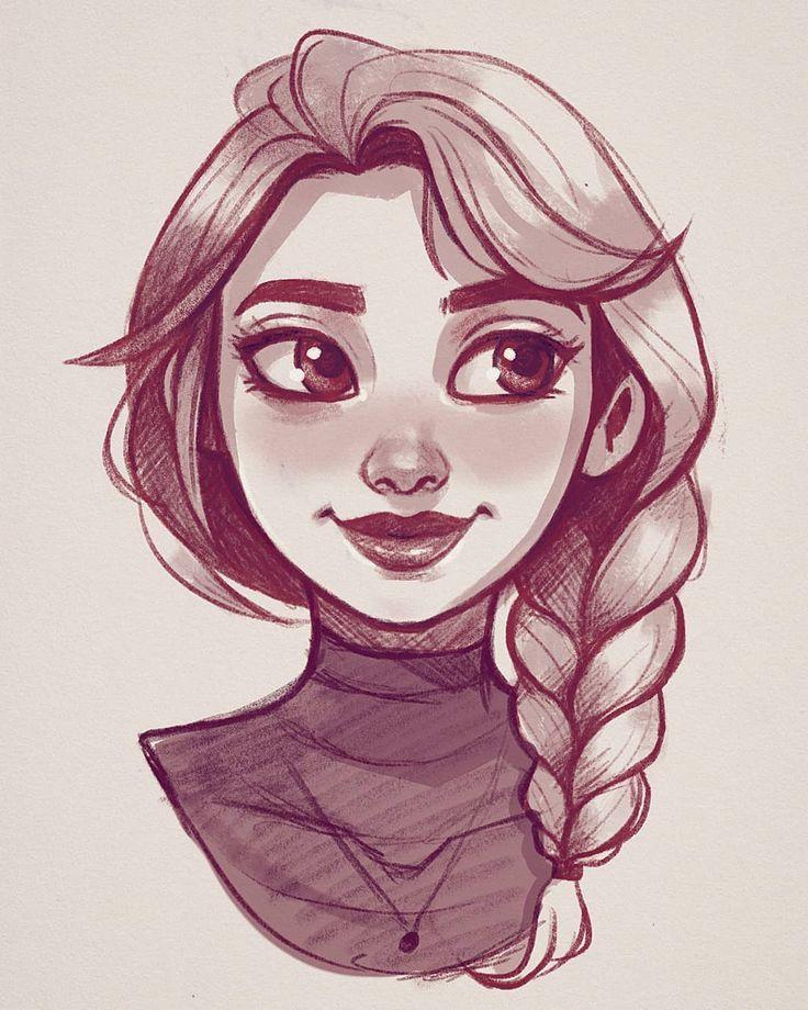 Drawing designs art_by_elliee on instagram sketch i
