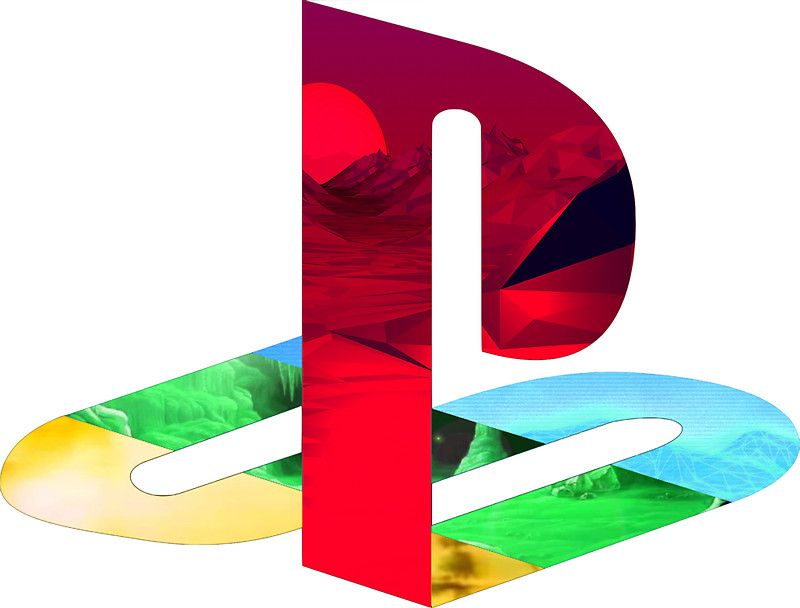Playstation Logo Vaporwave By Brycice Playstation プレイ