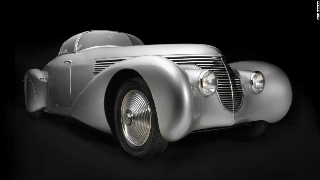 All the automobiles featured were created during the Art Deco period ...