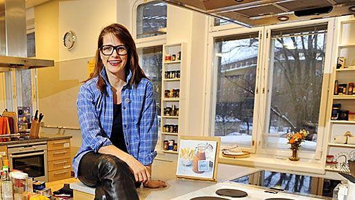 Marttaliiton toiminnanjohtaja Marianne Heikkilä muistuttaa, että onnistunut hiihtoloma on ennen kaikkea yhdessä olemista. Kuva: Lehtikuva.