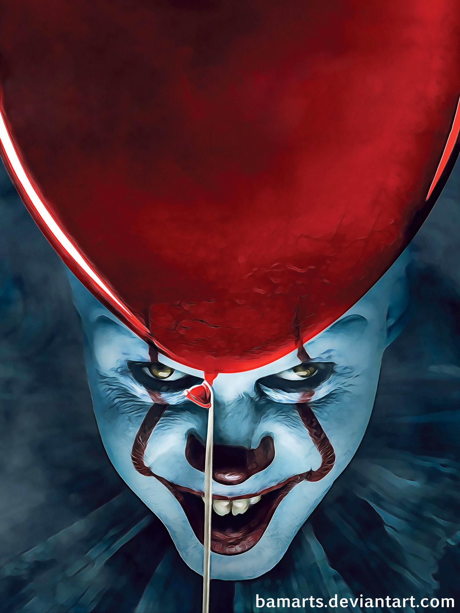 It Pennywise Final By Bamarts On Deviantart Pennywise The Dancing Clown Horror Art Pennywise The Clown