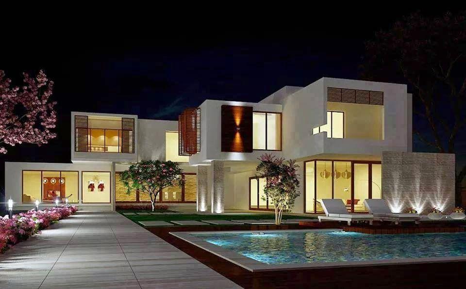 30 Fachadas de Casas Modernas dos Sonhos! | Fachadas de