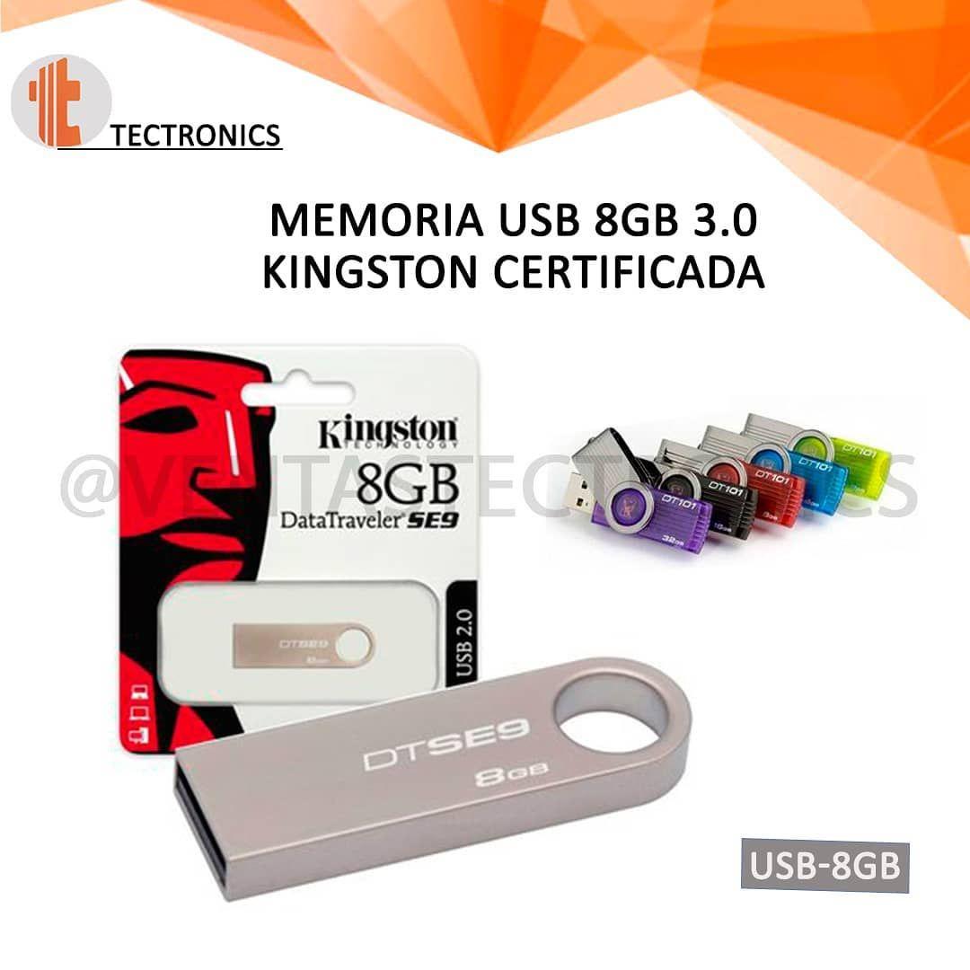 Memoria Usb 8gb 3 0 Kingston Original