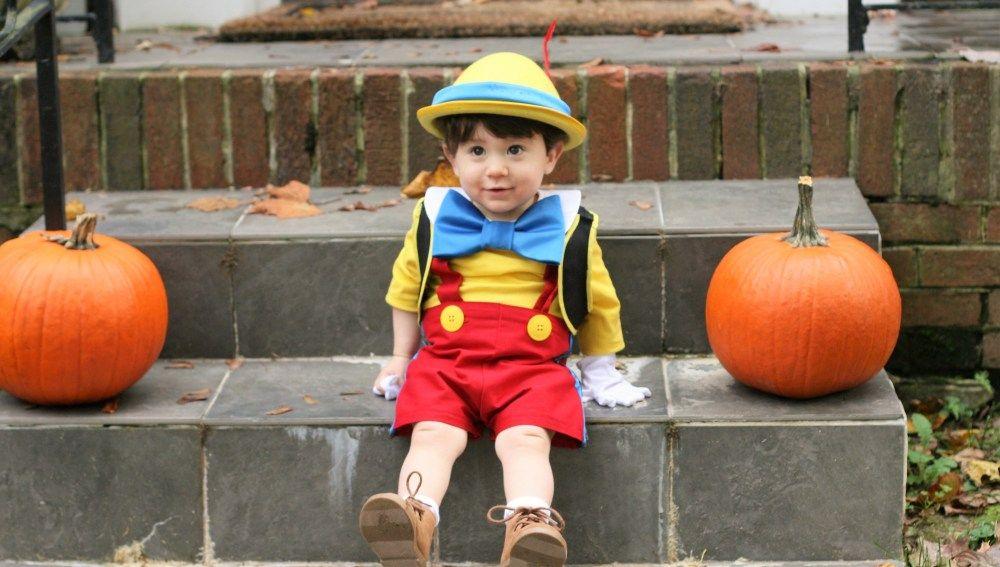 DIY Pinocchio Halloween Costume Baby halloween costumes