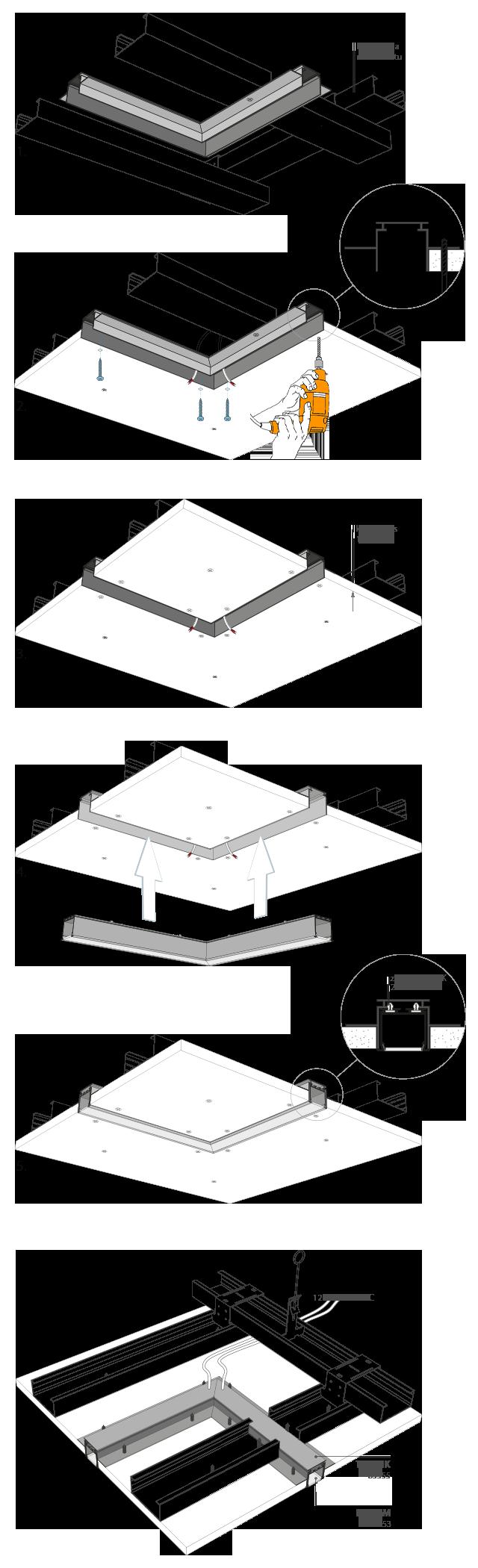 Examples Kluś Design Oświetlenie Profile Led Oprawy