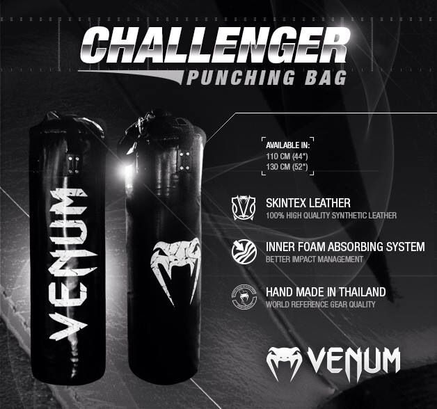 """Venum """"Challenger"""" bokszakken. Nu verkrijgbaar bij VechtsportWebshop.nl #venum #venummma"""