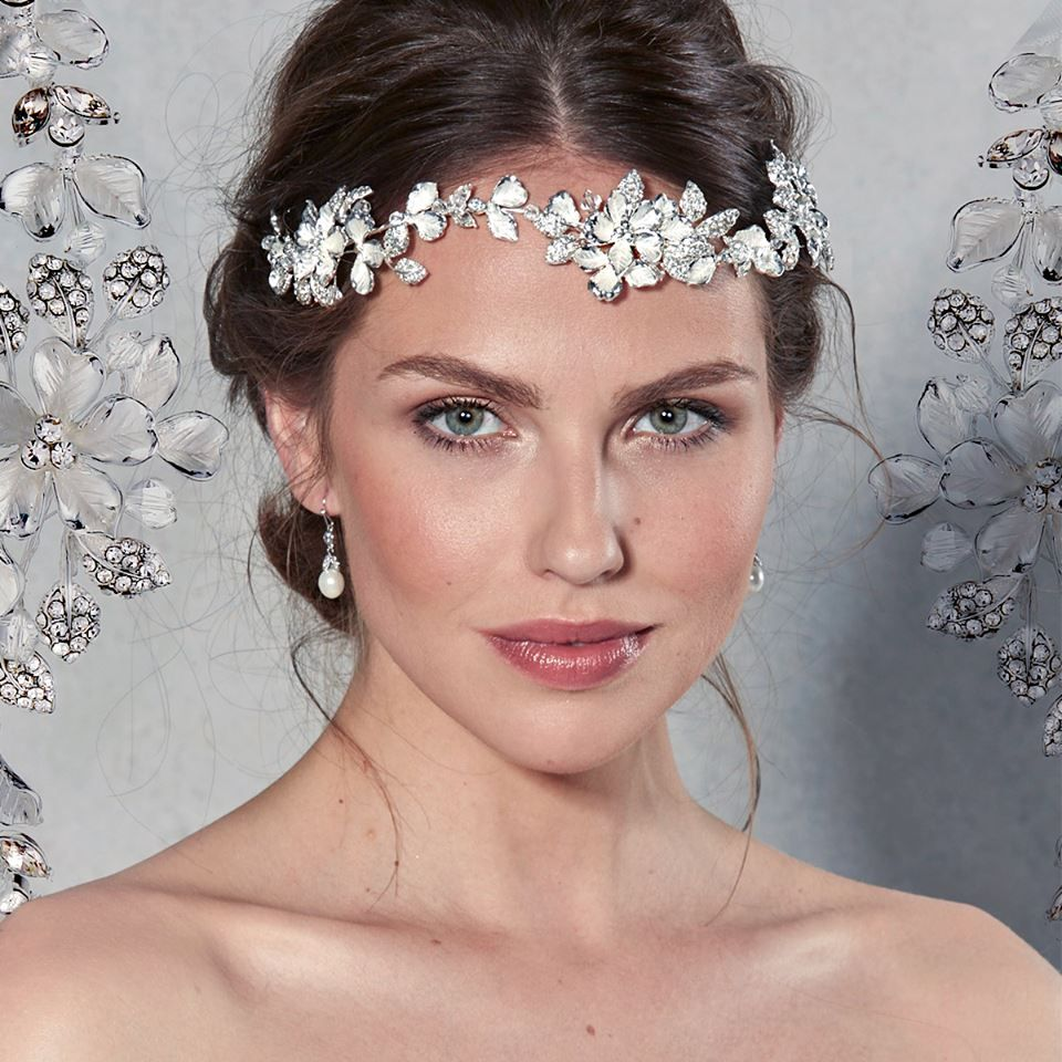 Hair accessories headbands uk - The Beautiful Violetta Headband By Amixi Is A Stunning Choice For Your Wedding Day