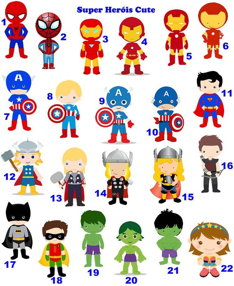 convite de aniversario super heroi