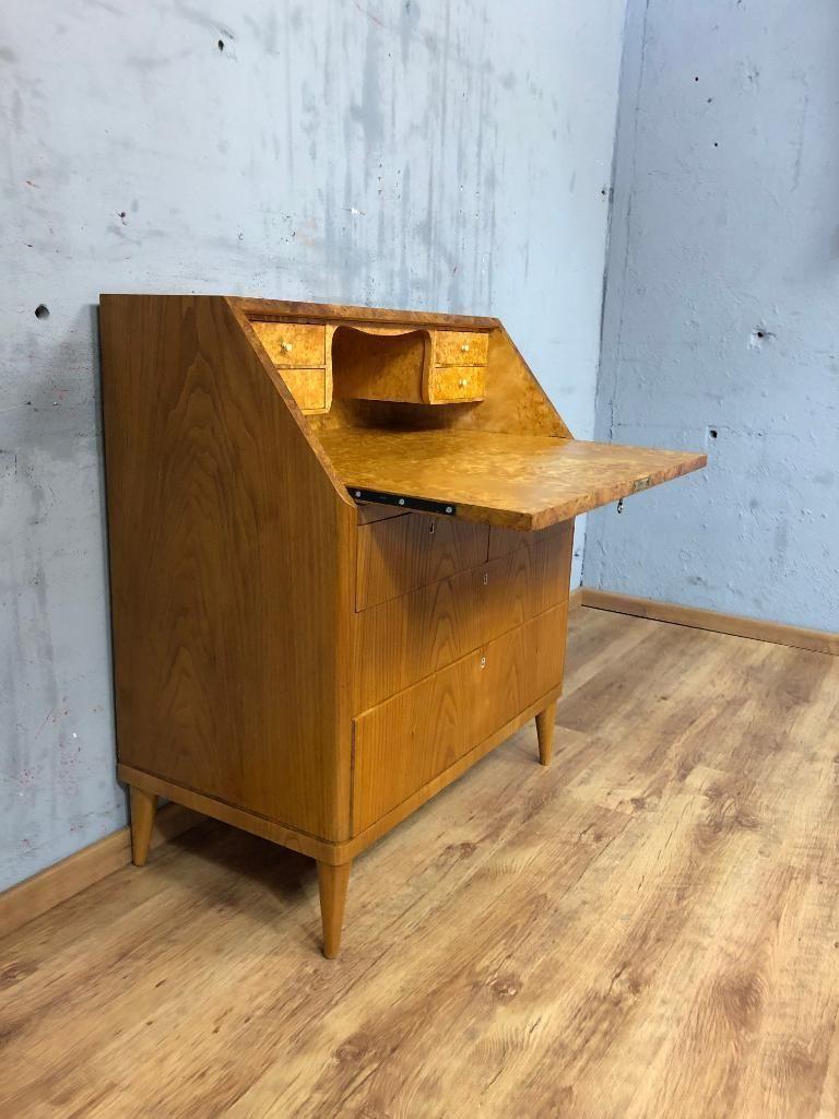 (1) RETRO Stilvoller Sekretär Schreibtisch