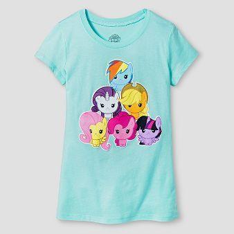 8182b501 Girls' My Little Pony T-Shirt - Mint | Berlin's Things | My little ...