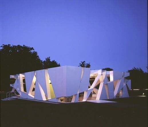Toyo ito serpentine pavilion best of architecture for Raumgestaltung definition