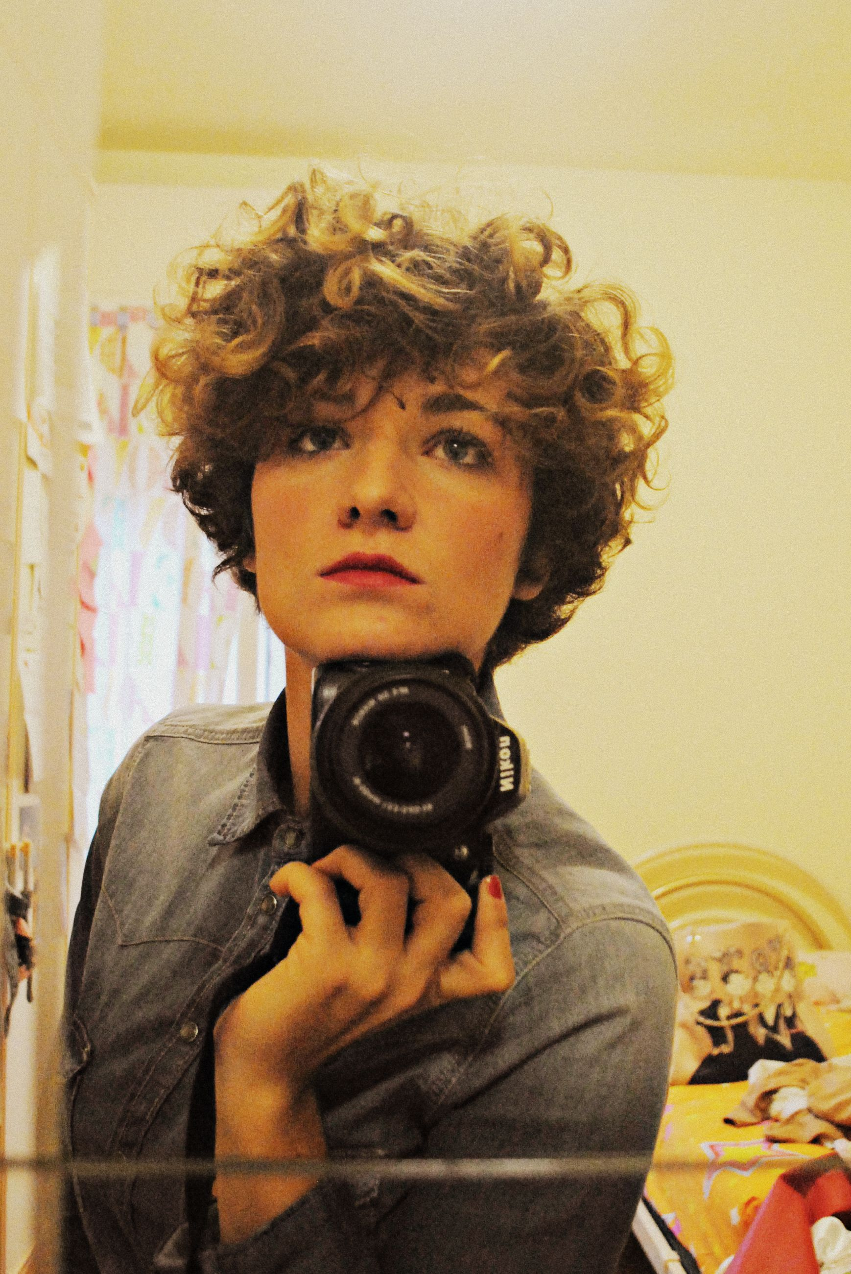 Short Curly Hair What My Curls Would Look Like Short Curls