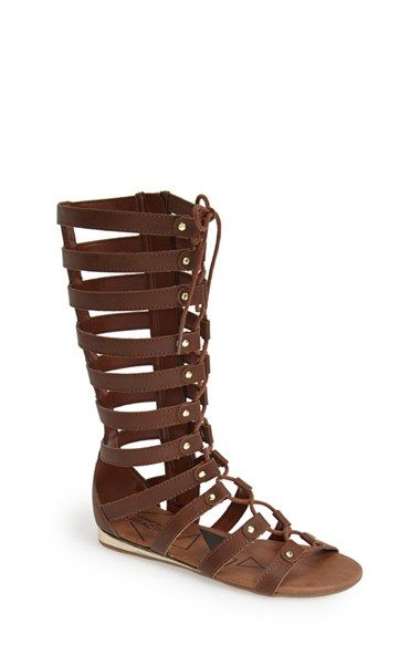 5fdb49ad5d8 Kenneth Cole Reaction  Do Shell  Gladiator Sandal (Little Kid   Big Kid)  available at  Nordstrom