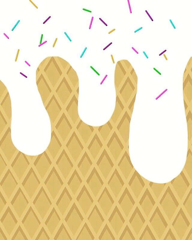 Cute Ice Cream Background: #icecream#vintage #cool #iphone #wallpapers #cute #girl
