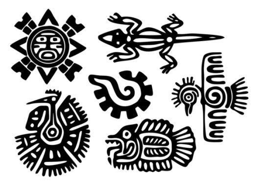 Tatuajes grecas mayas
