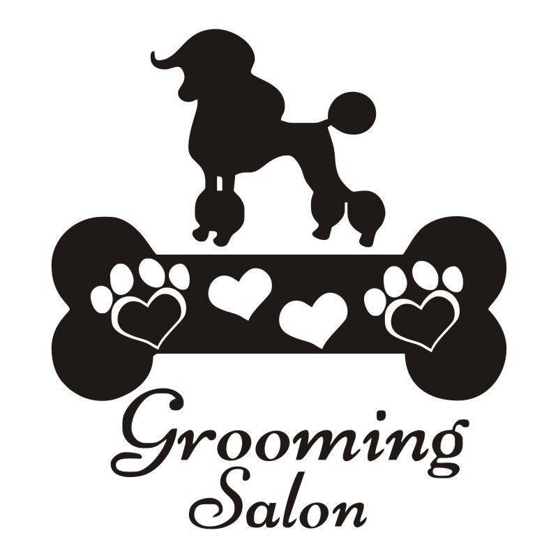 Lovely Dogs Bone Vinyl Wall Decals Living Room Pet Dog Art Wall Stickers Grooming Salon Decor Remova