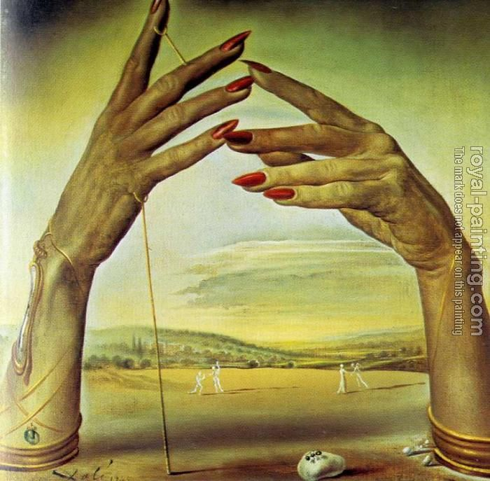 Salvador Dali Paintings | Salvador Dali - Portrait of a