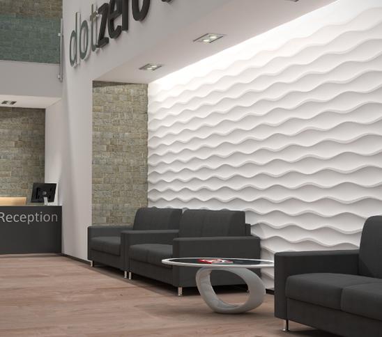 Hourglass Design Wall Cladding Mdf Wall Panels Kitchen Wall Panels
