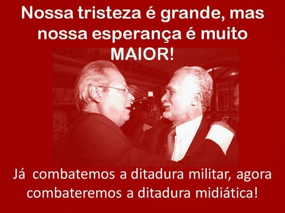 Perseguidos pela ditadura; odiados pela direita entreguista; abandonados no mensalão.