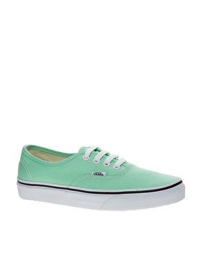 Image 1 of Vans Authentic Classic Mint Sneakers  9408c1f56